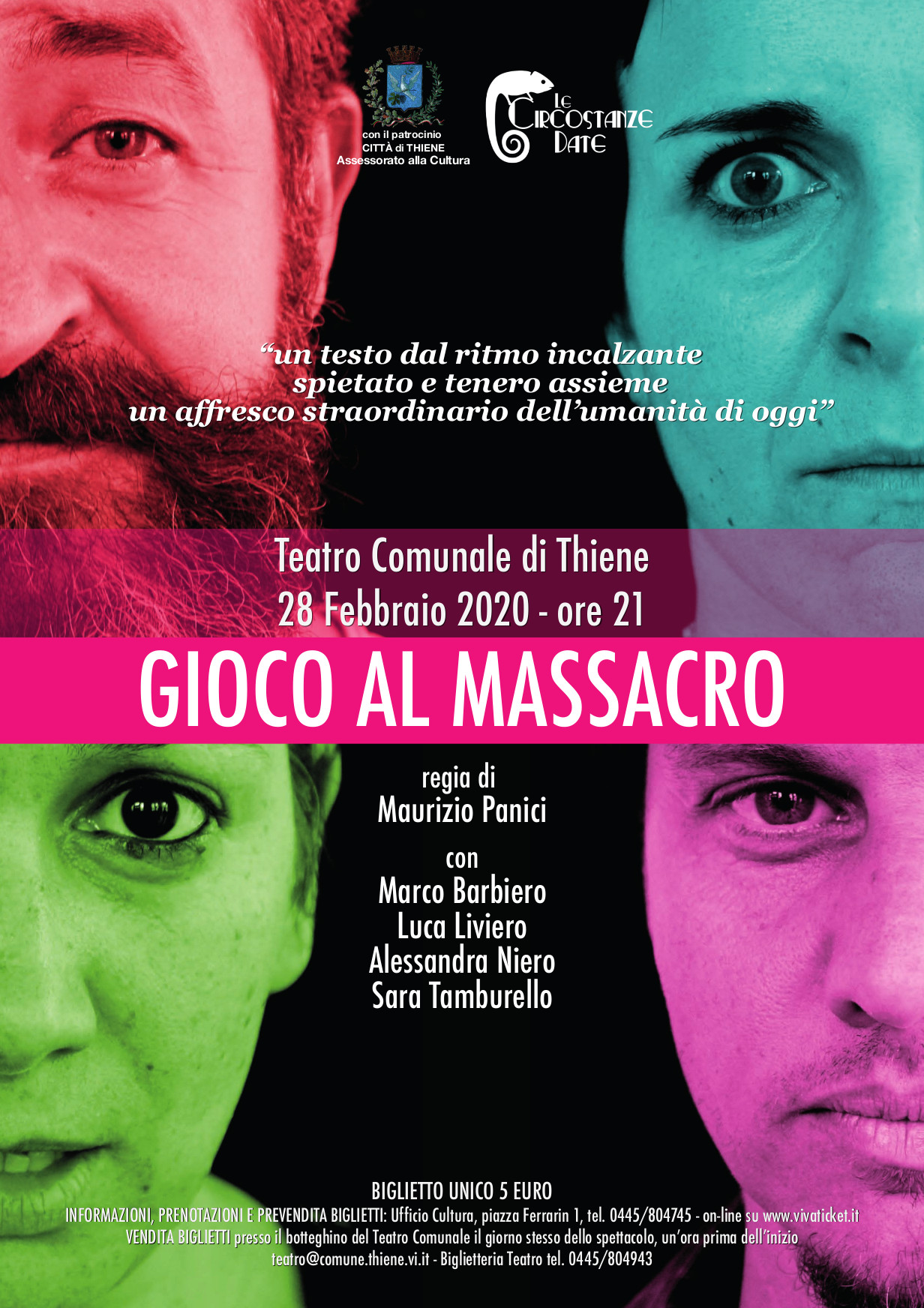Gioco al massacro (EVENTO SOSPESO)